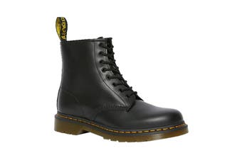 Dr. Martens 1460 Smooth Leather Hi Top Shoe (Black, Size 7 UK)