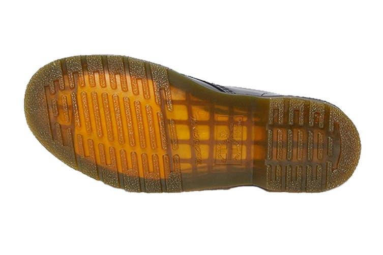 Dr. Martens 1460 Smooth Leather Hi Top Shoe (Black, Size 10 UK)