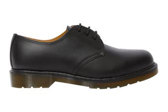 Dr. Martens 1461 Plain Welt Smooth Shoe (Black, Size 10 UK)