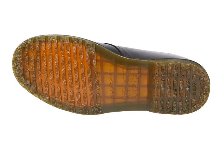 Dr. Martens 1461 Plain Welt Smooth Shoe (Black, Size 8 UK)
