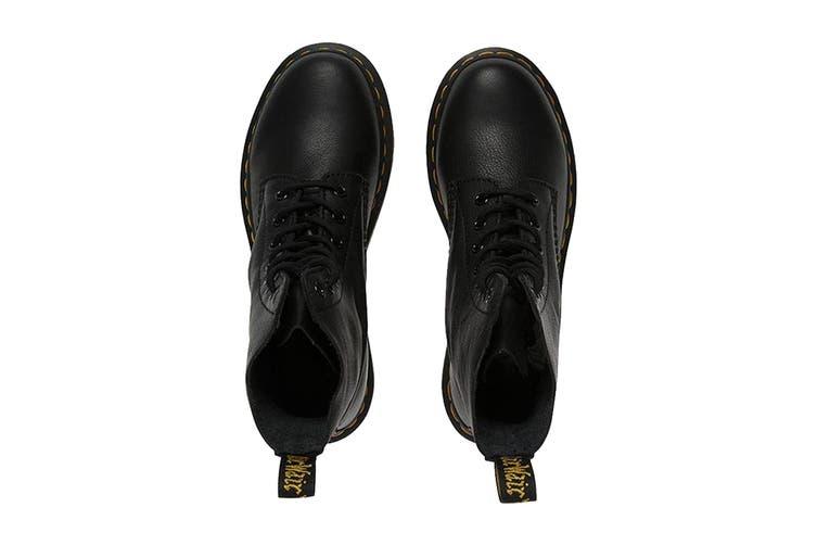 Dr. Martens 1460 Pascal Hi Top Shoe (Black, Size 3 UK)