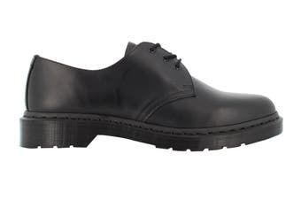 Dr. Martens 1461 Mono Smooth Low Top Shoe (Black, Size 8 UK)