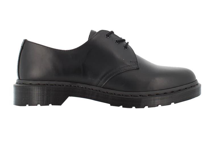 Dr. Martens 1461 Mono Smooth Low Top Shoe (Black, Size 5 UK)