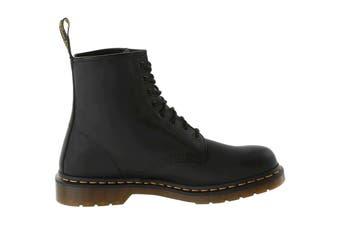 Dr. Martens 1460 Greasy Shoe (Black, Size 8 UK)