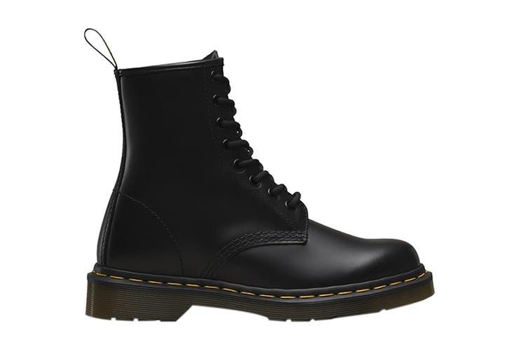 Dr. Martens 1460 Smooth Leather Hi Top Boots (Black, Size 5 UK)