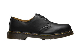 Dr. Martens 1461 Nappa Shoe (Black, Size 5 UK)