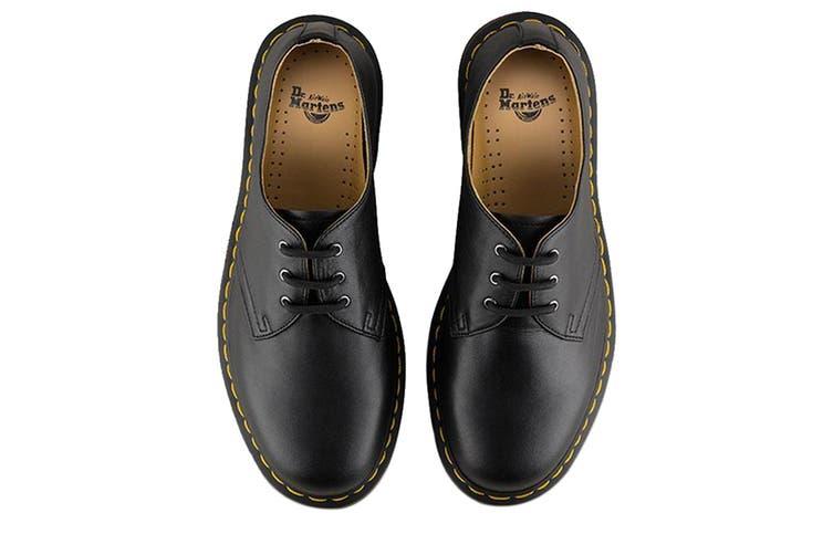 Dr. Martens 1461 Nappa Shoe (Black, Size 3 UK)