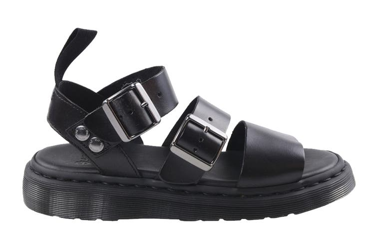 Dr. Martens Gryphon Brando Sandal (Black, Size 9 UK)