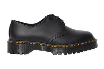 Dr. Martens 1461 Bex Smooth Leather Low Top Shoe (Black)