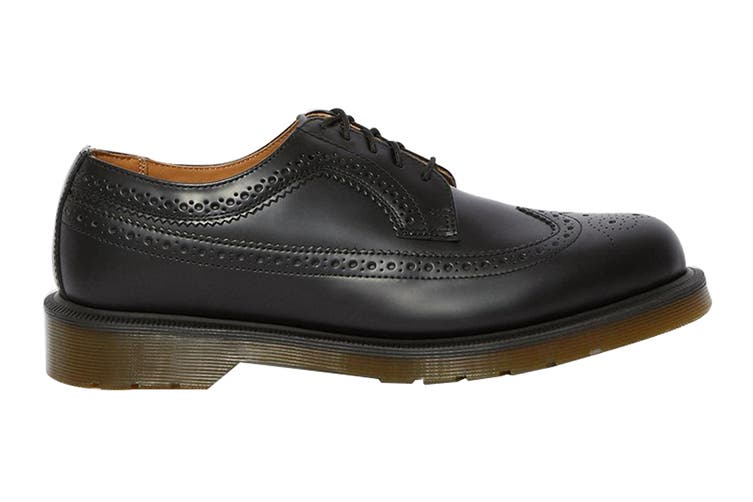 Dr. Martens 3989 Smooth Leather Brogue Low Top Shoe (Black, Size 6 UK)