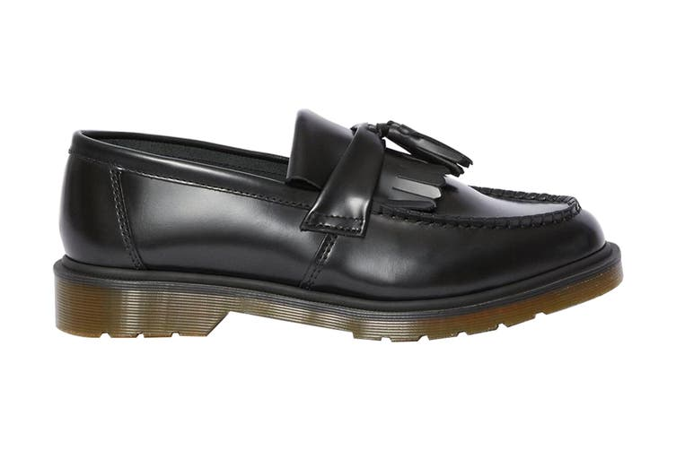 Dr. Martens Adrian Shoe (Black Polished Smooth, Size 4 UK)