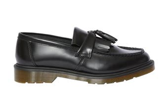 Dr. Martens Adrian Shoe (Black Polished Smooth, Size 5 UK)