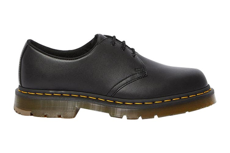Dr. Martens 1461 Slip Resistant Leather Low Top Shoe (Black Industrial Full Grain, Size 12 UK)