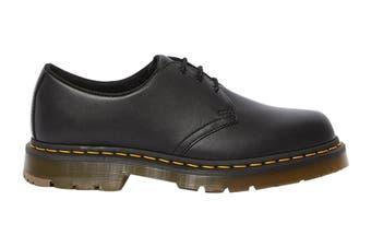 Dr. Martens 1461 Slip Resistant Leather Low Top Shoe (Black Industrial Full Grain)
