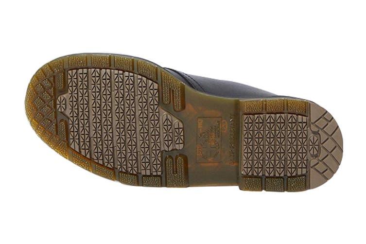 Dr. Martens 1461 Slip Resistant Leather Low Top Shoe (Black Industrial Full Grain, Size 8 UK)