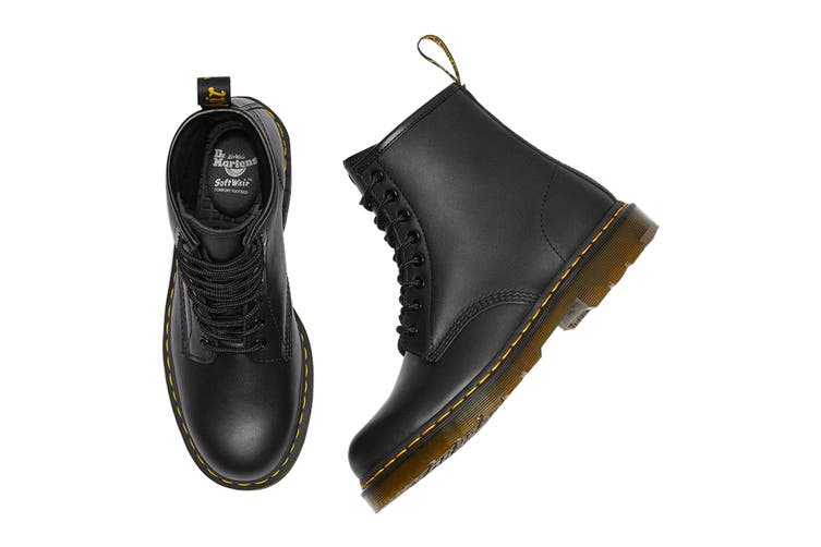 Dr. Martens 1460 Non Slip Leather Ankle Boots (Black Industrial Full Grain, Size 10 UK)
