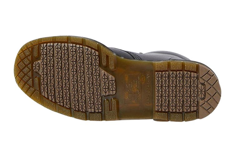 Dr. Martens 1460 Non Slip Leather Ankle Boots (Black Industrial Full Grain, Size 8 UK)