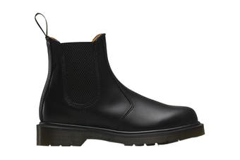 Dr. Martens 2976 Smooth Chelsea Hi Top Shoe (Black, Size 8 UK)