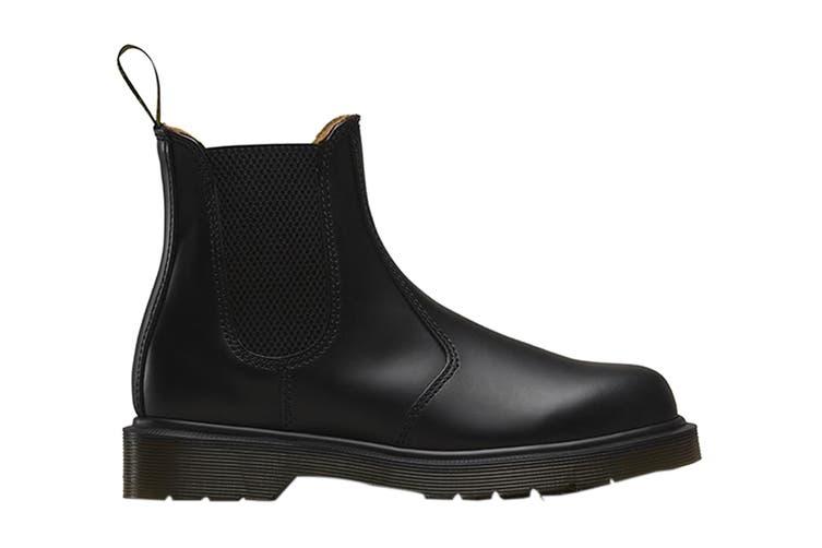 Dr. Martens 2976 Smooth Chelsea Hi Top Shoe (Black, Size 6 UK)