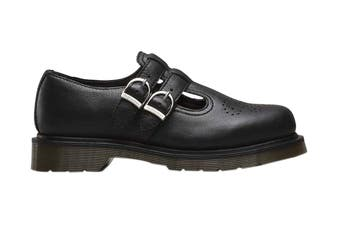 Dr. Martens Women's 8065 Virginia Shoe (Black, Size 3 UK)
