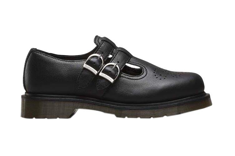 Dr. Martens Women's 8065 Virginia Shoe (Black, Size 3 UK)
