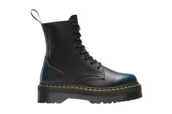 Dr. Martens 8 Eyelet Jadon Vintage Platform Boot (Blue)