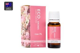 ECO. Aroma Rose 3% Essential Oil (10mL)