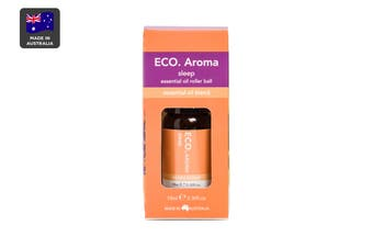 ECO. Sleep Essential Oil Roller Ball with Mandarin, Lavender, Frankincense, Ylang Ylang & Chamomile (10mL)