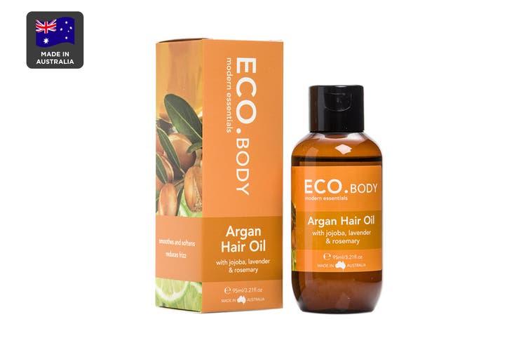 ECO. Certified Organic Argan Hair Oil (95mL)