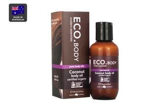 ECO. Certified Organic Coconut Body Oil (95mL)