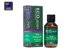 ECO. Back Massage Oil with Black Pepper & Lavender (95mL)
