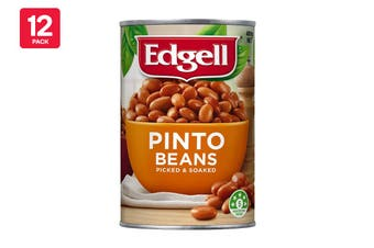 Edgell 400G Pinto Beans Picked & Soaked (12 Pack)
