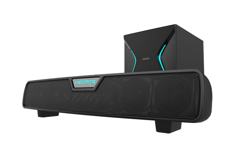 Edifier DTS Surround Sound Wireless Subwoofer Gaming Speakers - Black (G7000)