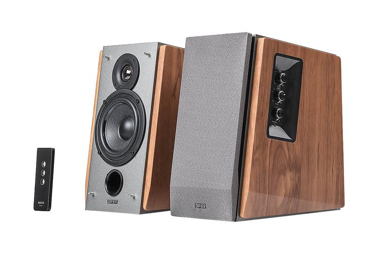 Edifier Home Audio Speakers with Dual RCA Input - Brown (R1600T III)