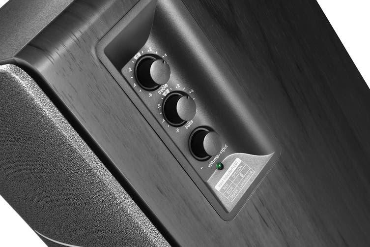 Edifier R1280DB - 2.0 Lifestyle Bookshelf Bluetooth Studio Speakers - Black (SPE-R1280DB-BK)