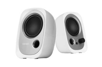 Edifier R12U 2.0 USB Multimedia Speakers - White (SPE-R12U-WH)