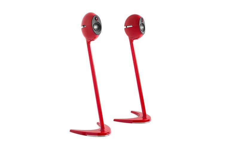 Edifier E25, E25HD & E235 Compatible Speaker Stands - Red (SS01C)