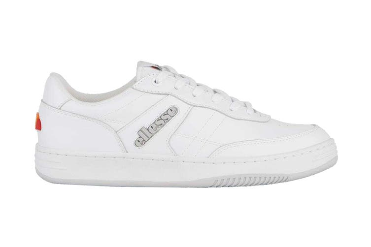 Ellesse Men's Vinitziana 2.0 Leather AM Shoe (White/White, Size 11 US)