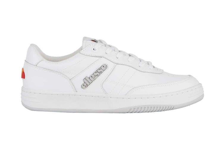 Ellesse Men's Vinitziana 2.0 Leather AM Shoe (White/White, Size 9 US)
