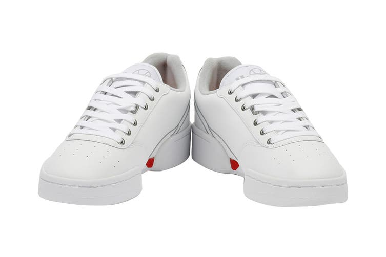 Ellesse Men's Piacentino Leather AM Shoe (White, Size 13 US)