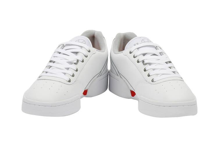 Ellesse Men's Piacentino Leather AM Shoe (White, Size 8.5 US)