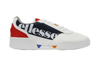 Ellesse Women's Piacentino Leather AF Shoe (White/Navy, Size 8 US)