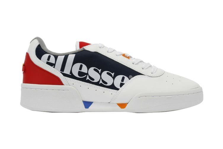Ellesse Women's Piacentino Leather AF Shoe (White/Navy, Size 9 US)