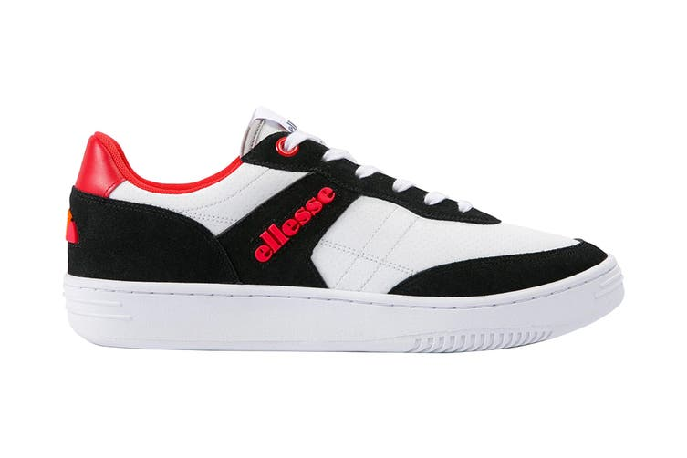 Ellesse Men's Vinitziana 2.0 Leather AM Shoe (White/Black, Size 8 US)