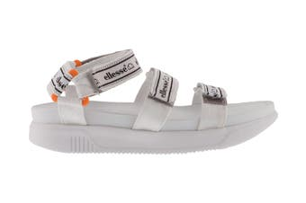Ellesse Women's Denso Text AF Sandal (White)