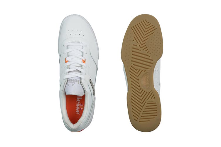 Ellesse Men's Piacentino 2.0 Leather AM Shoe (White, Size 8 US)