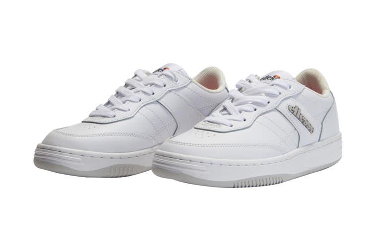 Ellesse Women's Vinitziana 2.0 Leather AF Shoe (White/White, Size 5 US)