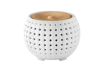 Ellia Gather Ultrasonic Aroma Ceramic Diffuser - White (ARM-910WT-WW)