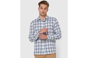 Elwood Men's Wolfgang Shirt (Blue/White)