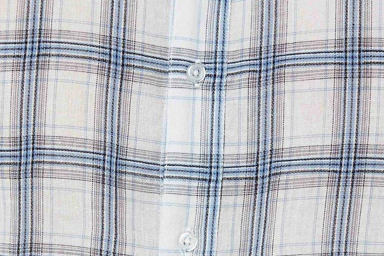 Elwood Men's Wolfgang Shirt (Blue/White, Size S)